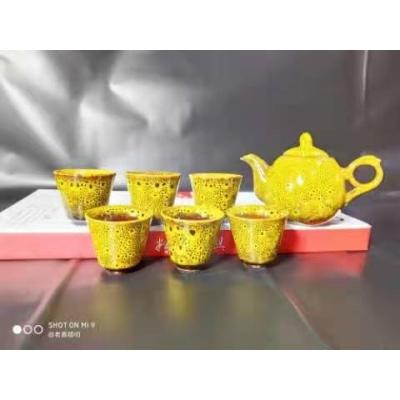 窑变茶具 24套/件